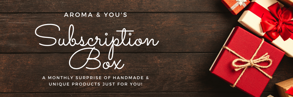 Subscription Box Banner - Aroma & You